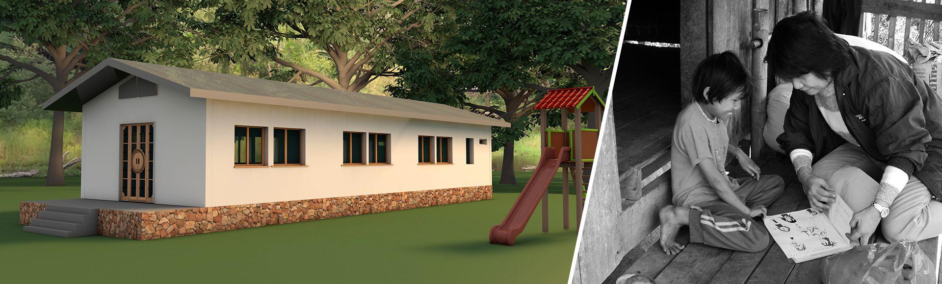 Association Angela Projet de construction d'une école
