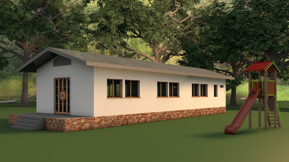 Projet École Multi-Niveau village Thaïlande du Nord